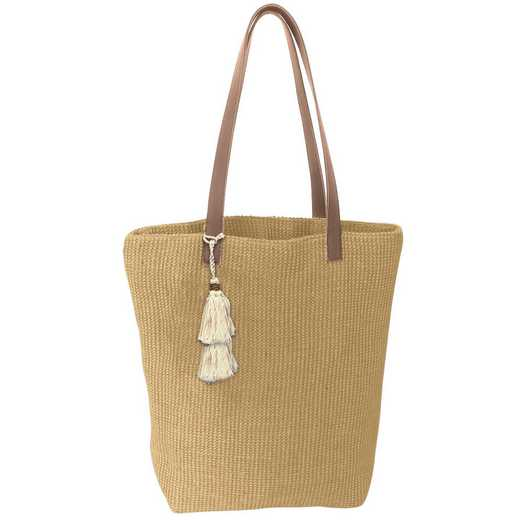 KA301602: Karma JUTE TOTE TAN/NATURAL (S18)